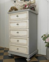 Beautiful Vintage Dresser Sideboard Chest Of Drawers Charming Shabby Chic Finish. in Ramstein, Germany