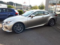 2015 LEXUS RC350 *AWD *FSPORT* Fully LOADED in Grafenwoehr, GE