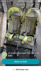All weather wrangler twin stroller in Bolling AFB, DC