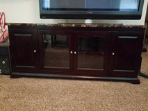 Beautiful Faux Marble TV Stand in Pasadena, Texas