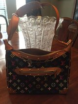Louis Vuitton black and multi-color LV bag (authentic) in Kingwood, Texas