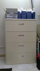 Four Drawer Lateral File Cabinet in Naperville, Illinois