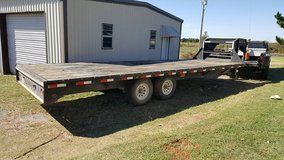 34ft gooseneck flatbed trailer in Lawton, Oklahoma