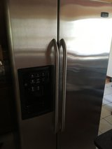 Fridge Side-by-Side with Ice Maker in Glendale Heights, Illinois