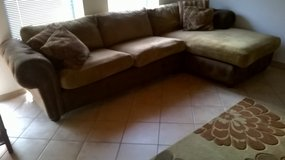 Sectional Couch & Large Chair in Ramstein, Germany