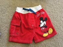Mickey Mouse swim trunks...size 18-24M in Yorkville, Illinois