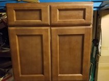 "New 30"" Bathroom cabinet all wood no particle board in Camp Lejeune, North Carolina"