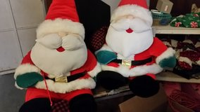 2 Sitting Santas in Nellis AFB, Nevada