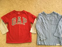 babyGap long sleeve shirts...size 3 years in Naperville, Illinois
