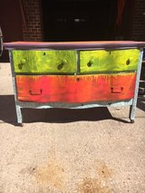 Hand painted 3 drawer dresser in Baytown, Texas