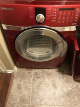 Red Samsung Dryer BEST OFFER!! in San Antonio, Texas