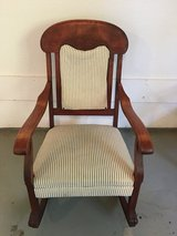 Antique rocking chair in Fort Campbell, Kentucky