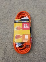 25Ft Extension Cord - NEW in Camp Lejeune, North Carolina