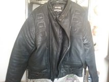 Men's Black Leather Jacket size 50 (XL) in Yucca Valley, California