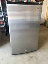 Stainless Steel/Black Mini Freezer - Like New in Fairfield, California