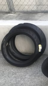 Motorcycle Tires (front & rear) in Okinawa, Japan