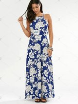 Floral Evening Dress in Camp Pendleton, California