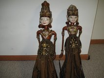 "2 MARIONETTES/29"" INDIA (puppets) in Lockport, Illinois"