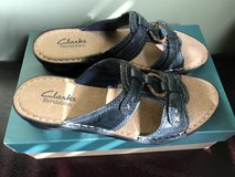 Clarks - New Navy Sandal size 6 in Byron, Georgia