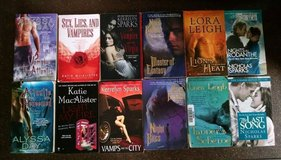(24) Paperback Paranormal/Romance Novels #2, Smith, Viehl, Palmer, Adrian, Sparks, Leigh, Banes,... in Lawton, Oklahoma