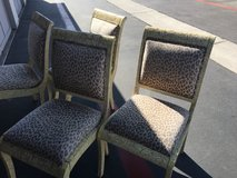 4 chairs in Camp Pendleton, California