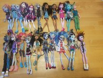 Monster High Doll lot in Hopkinsville, Kentucky