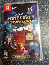 Switch game Minecraft story in Kingwood, Texas