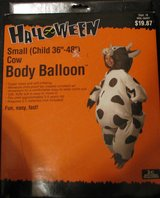 Cow Halloween Costume self-inflating Body Balloon - Child in Baytown, Texas