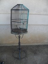 ^^^  Cool Rusty Old Bird Cage  ^^^ in 29 Palms, California