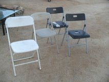 ***  4 x Folding Chairs  *** in Yucca Valley, California