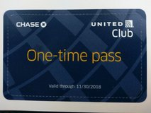 United Airlines Club Pass Expires 11/30/2018 in Okinawa, Japan