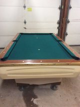 Vintage Pool table in Naperville, Illinois