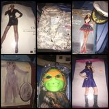 Halloween costumes! All worn once! in Clarksville, Tennessee
