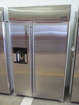 48 inch Jenn Air stainless refrigerator in Kingwood, Texas