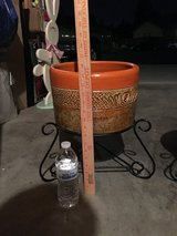 Flower pot with stand in Fairfield, California