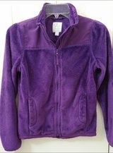 Girls Children's Place size 10/12 purple light jacket in Naperville, Illinois