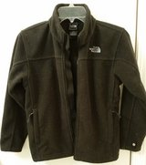 North Face Boys or Girls black size 10/12 jacket in Batavia, Illinois