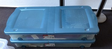 2 Rubbermaid under Bed storage in Ramstein, Germany