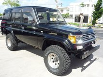 Land cruiser70PRADO 1993y June  Diesel turbo in Okinawa, Japan