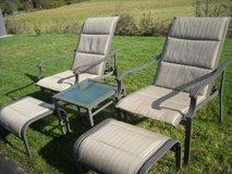 Lawn furniture in Ramstein, Germany