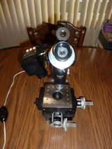 BAUSCH & LOMB Machinist Toolmakers MICROSCOPE MICROMETER X-Y STAGE B&L Lighted in Joliet, Illinois