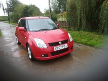 Suzuki Swift VVTS GLX in Lakenheath, UK