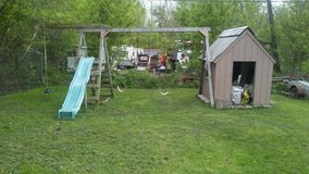 Kids playground only.(not house next to it) in St. Charles, Illinois