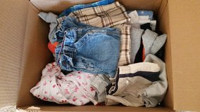 Box of Kids clothing in Lawton, Oklahoma