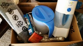 Box of Household Items in Lawton, Oklahoma