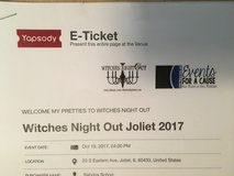 WITCHES NIGHT OUT TICKETS AT THE JACOB HENRY MANSION OCT 19, 2017 in Joliet, Illinois