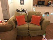 light green loveseat in Wilmington, North Carolina