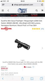 SureFire Mini Scout Light in Camp Pendleton, California
