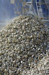 Crushed Concrete, milled asphalt, limestone in Conroe, Texas