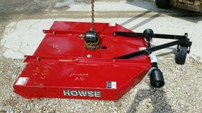 4 foot brush hog New never used in Conroe, Texas